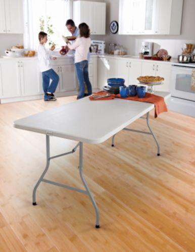 Table pliante For Living, avec roulettes, 6 pi