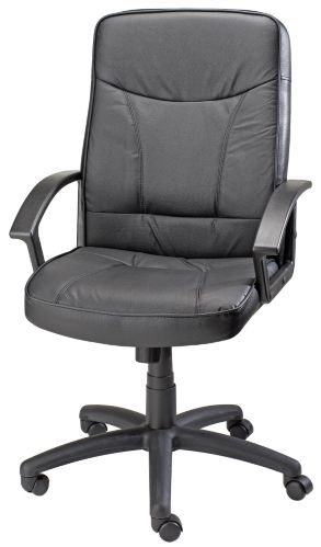 For Living Polyurethane Split Leather Office Chair Product image