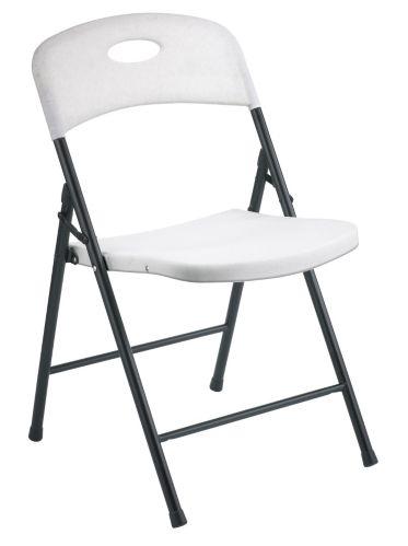 Chaise pliante en résine For Living, blanc Image de l'article