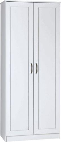 System Build 2-Framed Door Storage Cabinet, White Product image
