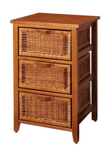 Petit meuble en osier For Living, miel Image de l'article