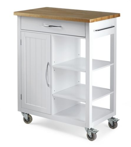 For Living Kitchen Cart with Wooden Top