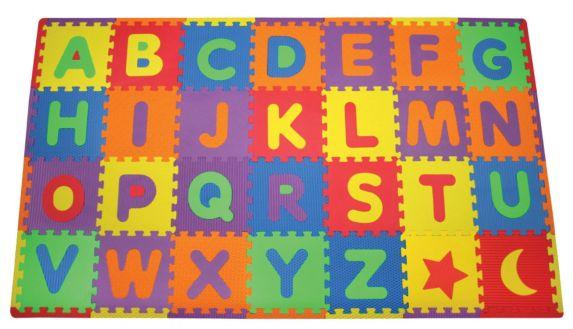 Tapis de jeu, lettres de l'alphabet amovibles Image de l'article