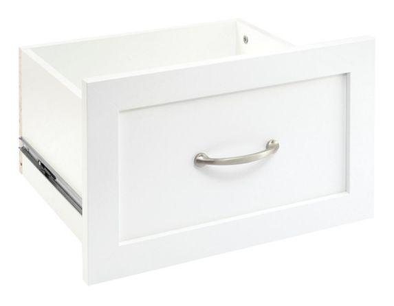 Tiroirs en bois ClosetMaid, blanc, 16 x 10 po Image de l'article