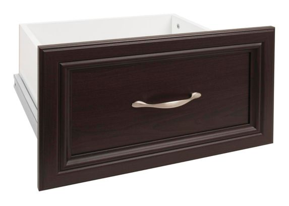 ClosetMaid Wood Drawer, Espresso, 16-in x 10-in