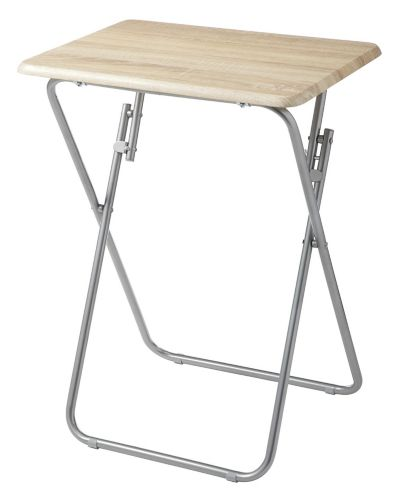 For Living Wood Grain Folding Tray Table Product image