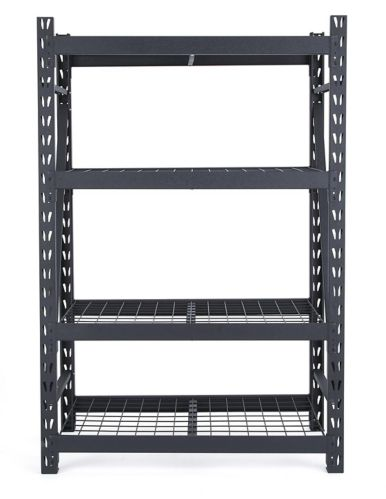 Étagère robuste à 4 tablettes MAXIMUM, 48 x 24 x 72 po