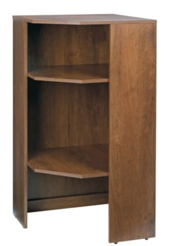 Sauder Oiled Oak Corner Unit