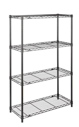 Étagère en métal noir à 4 niveaux For Living Image de l'article