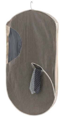 For Living Pinstripe Garment Bag