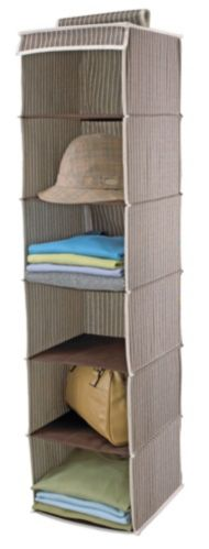 For Living Garment Organizer, 6 Shelves