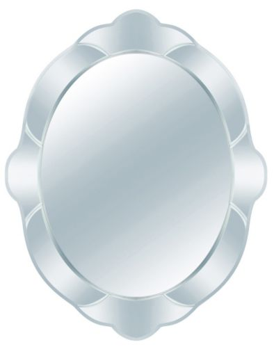 For Living Tiffany Oval Bevel Mirror Product image
