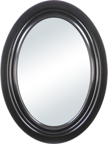 For Living Charlotta Espresso Oval Mirror Product image