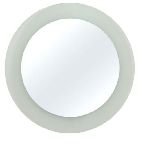 Miroir rond givré, 6 po, paq. 3