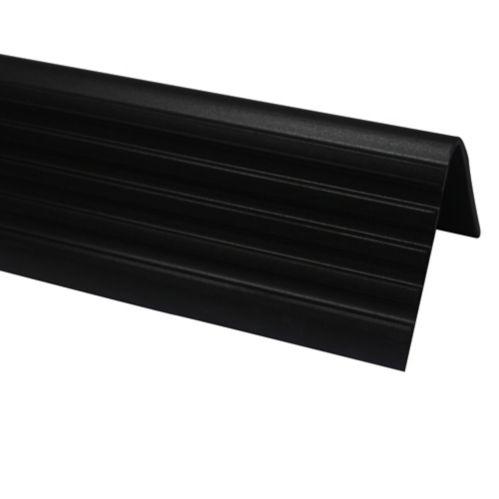 Shur-Trim Floor Nosing Overlap, Black, 3-ft Product image