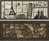 Printed Estate Rubber Mat | Multy Homenull