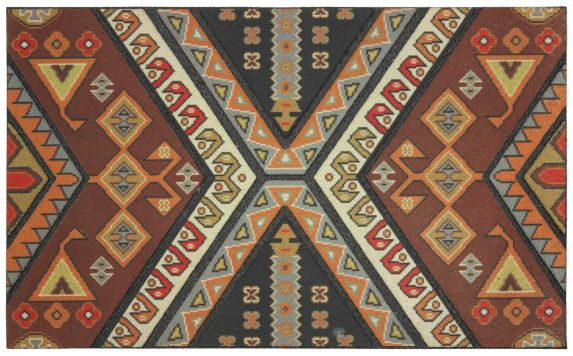Recycled Rubber Ancestry Mat, Assorted Product image