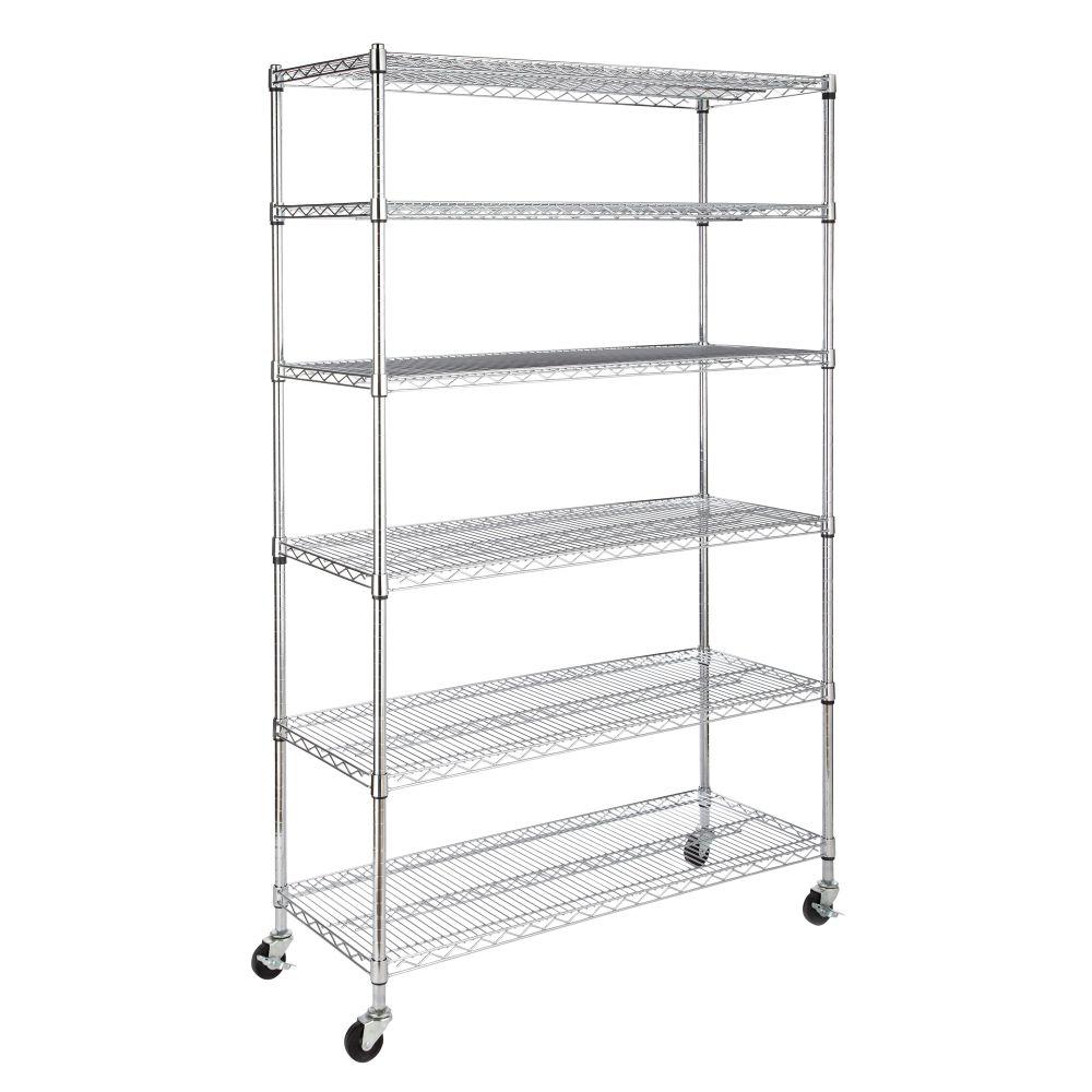 For 6-Tier Wire Shelf wit