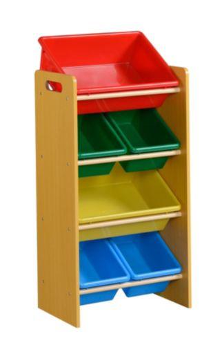 6-Bin Coloured Organizer Product image