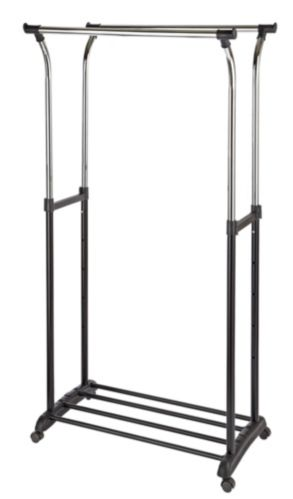 For Living Flanged Garment Rack Product image