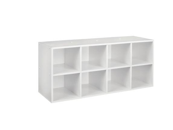 ClosetMaid 8-Cube White Shoe Organizer Product image