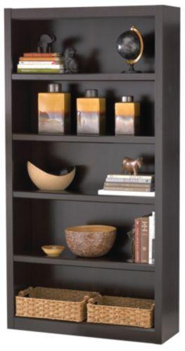 Bibliothèque For Living, 5 tablettes, bois Jamocha Image de l'article