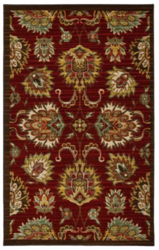 Crafton Red Area Rug Product image