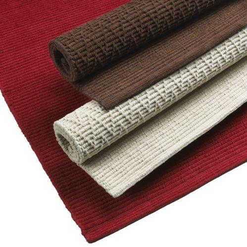 Chenille Brown Mat, 24x36-inch