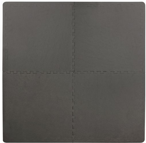 For Living Comfort Flooring Tiles, Grey, 4-pk Product image
