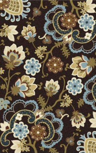 Floral Bloom Area Rug, 5 x 8 ft Product image