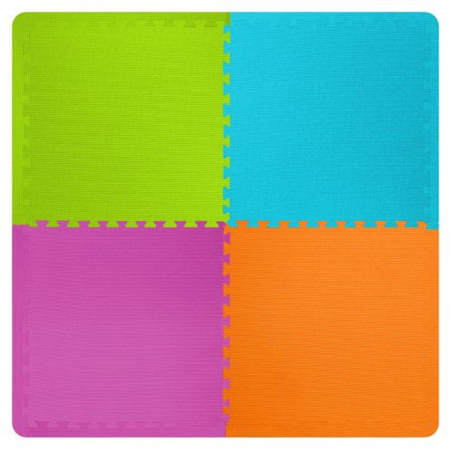 Best-Step Anti-Fatigue Kids' Interlocking Mats, Assorted Product image