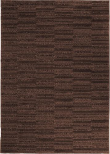 Steps Area Rug, Brown Product image