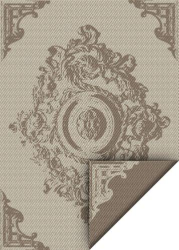 Tapis ext. tissé à plat réversible Korhani Jordan, 6 x 9 pi Image de l'article