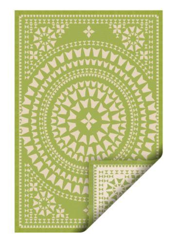 Korhani Green Balfour Outdoor Rug, 133 x 190-in