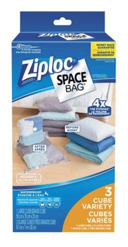 Sacs Ziploc Space Bag à glissière