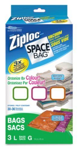 Ziploc Space Bags Large Tropical Colours, 3-pk Product image