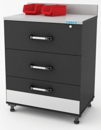 Armoire 3 tiroirs Cosco, 30 x 20 x 36 po Image de l'article