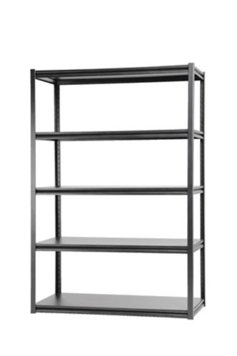 Mastercraft 5-Shelf Metal & Wood Rack, 24 x 48 x 72-in