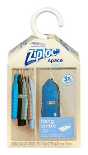 Ziploc Space Bag Hanging Suit Pack Product image