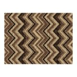 Chevron Ikat Deco Mat, 3 x 4' | Multy Homenull