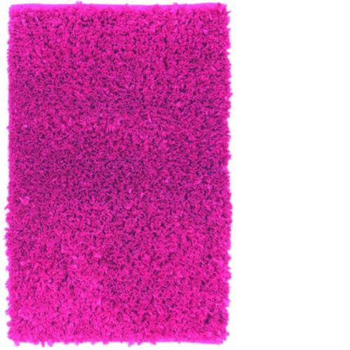 Carpette à poils longs en polyester, magenta, 20 x 30 po Image de l'article
