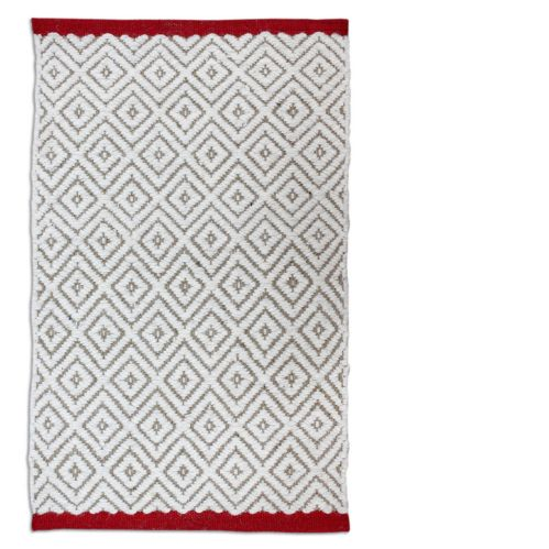 Red Creek Diamond Wool/Jute Rug, 20 x 30-in Product image