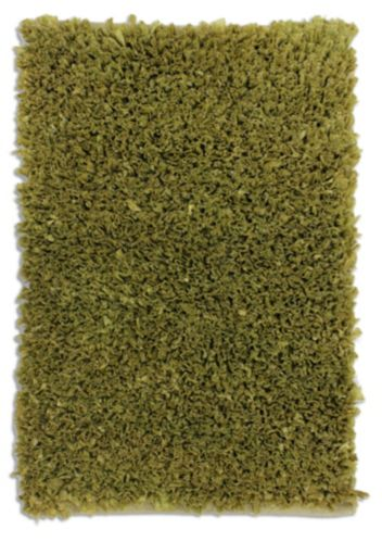 Dark Taupe Poly Shag Rug, 20 x 30-in Product image