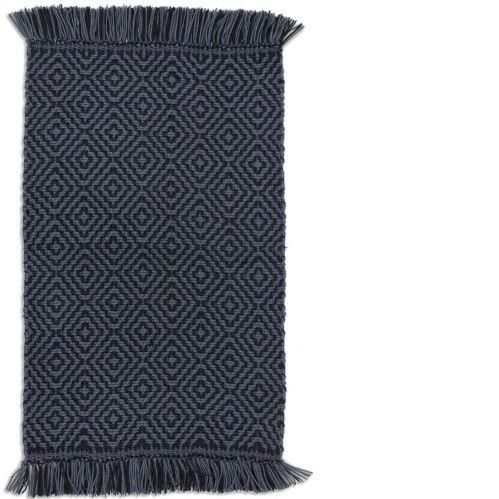 Maison Black/Grey Pet Rug, 20 x 30-in