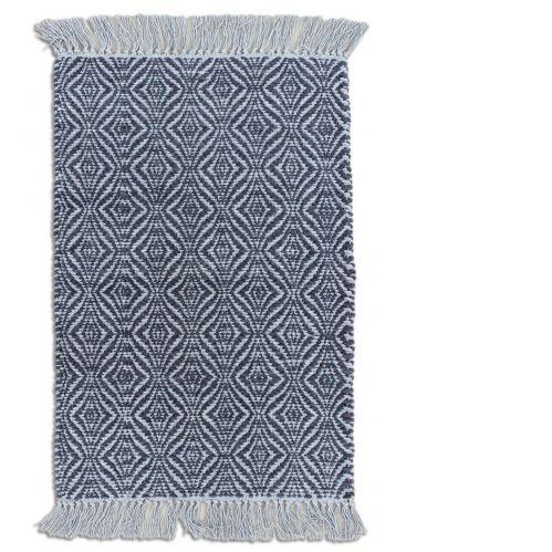 Allure Dark Grey Cotton Chenille Rug, 20 x 30-in Product image