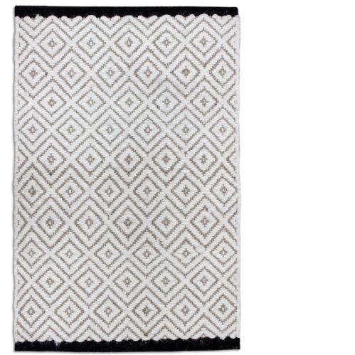 Black Creek Diamond Wool/Jute Rug, 20 x 30-in Product image