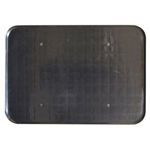 Black Boot Tray, 25 x 37-in