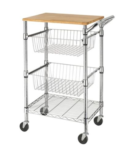 For Living Kitchen Cart with Cutting Board Product image
