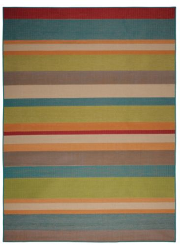 For Living Med Stripe Outdoor Rug, 8 x 10-ft Product image