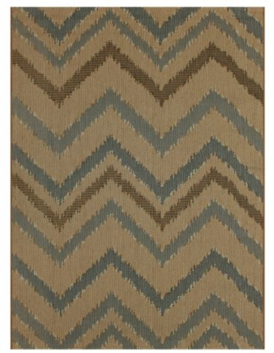 For Living Chevron Outdoor Rug, 6 x 9-ft Product image